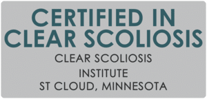 Clear Certification in Clear Scoliosis Clear Scoliosis Institute St Cloud, Minnesota