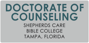 Doctorate Of Counseling Shepherds Care Bible College Tampa, Florida